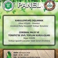 Photo taken at Kocaeli Üniversitesi Tıp Fakültesi Konferans Salonu by Zekiye U. on 11/3/2016