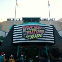 Photo taken at Back To The Future - The Ride by BONDOUT55 on 11/25/2012
