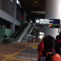 Photo taken at Bus Stop No.8, Terminal 1 by BONDOUT55 on 11/24/2012