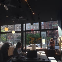 Photo taken at Manhattanville Coffee by Mima D. on 6/2/2014