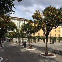Photo taken at Piazza Aranci by Nathalie on 1/24/2014