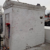 Photo taken at Tomb Of Marie Laveau by Chris 'Spike' on 5/12/2013