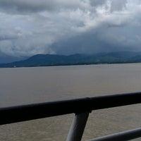 Photo taken at Pelabuhan Ferry Tarjun by Imooel S. on 4/25/2013