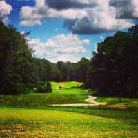 Photo taken at Fox Creek Golf Course and Driving Range by Justin H. on 8/11/2013