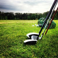 Photo taken at Fox Creek Golf Course and Driving Range by Justin H. on 4/27/2013