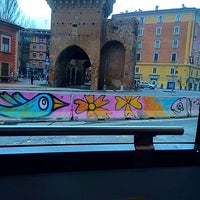 Photo taken at Via Irnerio by Cristina G. on 11/13/2014