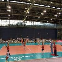 Photo taken at Sportska dvorana Žatika by 도임 김. on 8/3/2014
