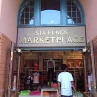 Photo taken at Six Flags Marketplace by Janelle P. on 7/19/2013