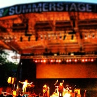 Photo taken at Central Park SummerStage by Aaron F. on 6/16/2013