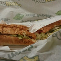 Photo taken at Subway by Melissa C. on 2/1/2013