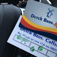 Photo taken at Dutch Bros. Coffee by Jeffrey R. on 2/3/2016