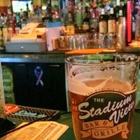 Photo taken at Stadium View Bar and Grill by Conrad C. on 6/26/2015