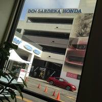 Photo taken at DCH Honda of Gardena by Joanne P. on 7/25/2013