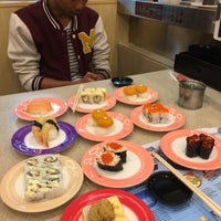 Photo taken at Sushi King by Nana H. on 3/6/2017