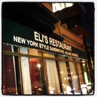Photo taken at Eli's Restaurant by Eli S. on 1/16/2013