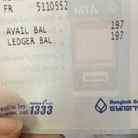 Photo taken at Bangkok Bank by Nanew on 2/22/2016