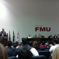 Photo taken at FMU - Casa Metropolitana do Direito by Antony C. on 9/3/2013