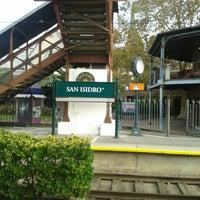 Foto tomada en Estación San Isidro [Línea Tren de la Costa] por Rogerio L. el 5/13/2013