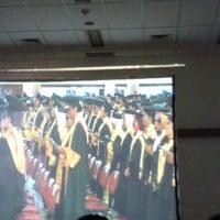 Photo taken at Universitas Gadjah Mada (UGM) by Wit M. on 1/29/2013