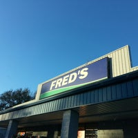 Photo taken at Fred's by Becky S. on 10/14/2013