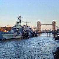 Photo taken at London Bridge City Pier by Marcus A. on 11/11/2016