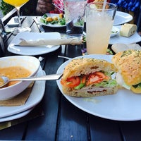 Photo taken at California Pizza Kitchen by Pierre K. on 1/19/2014