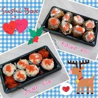 Photo taken at Sushi Box by Griskalia C. on 8/21/2013