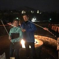 Photo taken at Sheraton Mountain Vista Villa S'mores Fire Pit by Carolyn H. on 3/24/2018