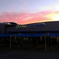 Photo taken at Carmel Car Wash by Tyler C. on 10/30/2012