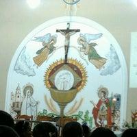 Photo taken at Igreja do Santo Expedito by Lari A. on 4/19/2013