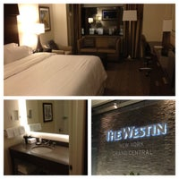 Photo taken at The Westin New York Grand Central by Paul K. on 10/11/2012