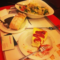 Photo taken at Vapiano by Burcu A. on 1/18/2013