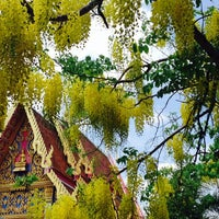 Photo taken at Wat Nakorn Pa Mak by My Name Is Aof on 3/30/2014