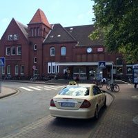 Photo taken at Cuxhaven railway station by Marek W. on 6/30/2014
