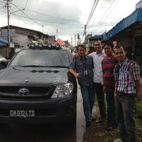 Photo taken at Lapangan tugu pelaihari by Ian Juanda M. on 5/7/2013