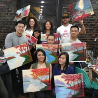 Photo taken at Painting Lounge by Rachelle on 3/27/2016