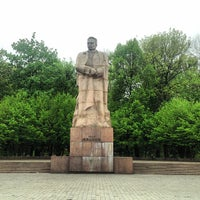 Photo taken at Пам'ятник Івану Франку / Ivan Franko Monument by Anton P. on 5/4/2013