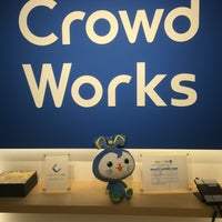 Photo taken at CrowdWorks, Inc. by Daisuke C. on 7/13/2016