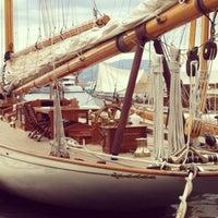 Photo taken at Port de Saint-Tropez by Dmitry D. on 5/9/2013