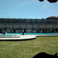 Photo taken at Bellevue Swimming Pool by Ritchie O. on 1/25/2013