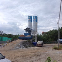 Photo taken at TPI Concrete Plant by Mr.Trakool T. on 12/8/2014