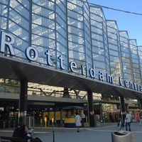 Photo taken at Rotterdam Central Station by Emma B. on 7/4/2013