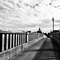 Photo taken at Heffernan Street Footbridge by glenn on 5/20/2013