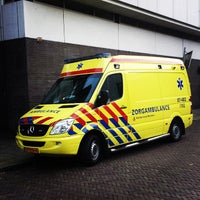 Photo taken at MeldKamer Ambulancezorg Gelderland-Midden by Valentijn W. on 10/18/2013