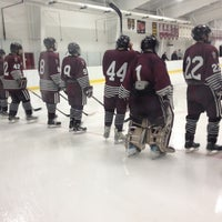 Photo taken at Gustafson-Phalen Ice Arena by Nate H. on 11/30/2012