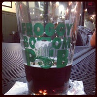 Photo taken at Froggy Bottom Pub by Hasan T. on 7/17/2013
