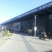 """Photo taken at Aeroporto di Catania Fontanarossa """"Vincenzo Bellini"""" (CTA) by adyglio w. on 3/23/2013"""
