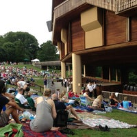 Photo taken at Wolf Trap National Park for the Performing Arts (Filene Center) by Paul A. on 7/1/2013