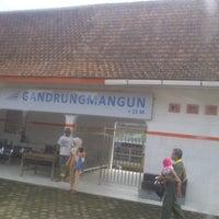 Photo taken at Stasiun Gandrungmangun by Binar D. on 1/25/2014