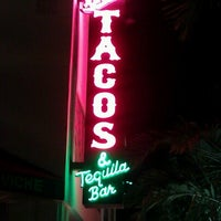 Photo taken at Rocco's Tacos and Tequila Bar by Melissa M. on 11/18/2012